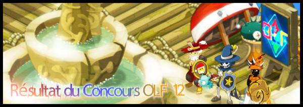 Résultat du Concours OLF #12