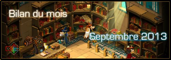 BM de Septembre 2013 / Petit projet réussi !