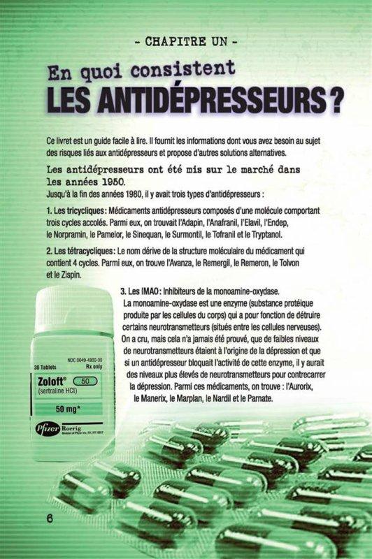 Gare à ne pas abuser des antidépresseurs - pas d'auto médication !