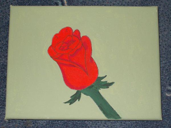 Rose Rouge (peinture)
