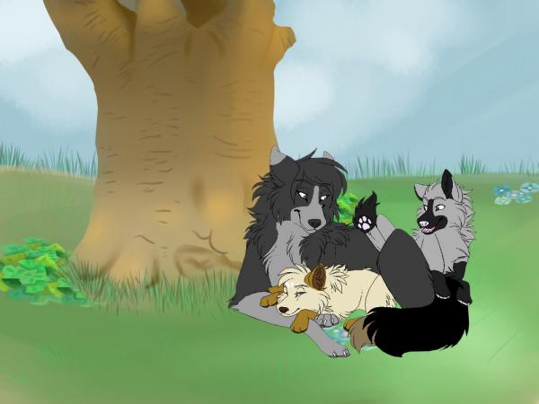 Lilas, Asha et Nita