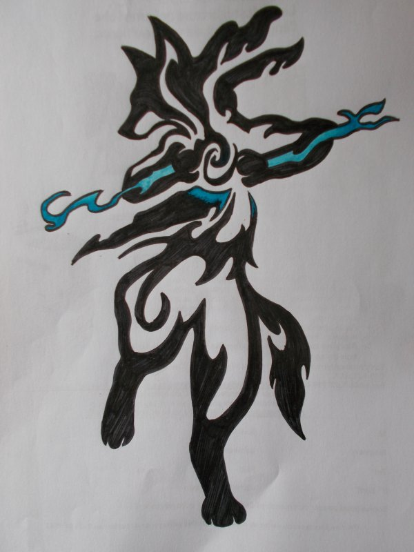 Lucario Tribal