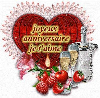 Bon Anniversaire Mon Amour Mon Uni Vert
