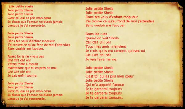 SHEILA  - Jolie petite Sheila
