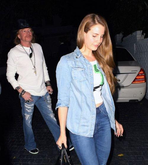 Lana Del Rey et Axl Rose?