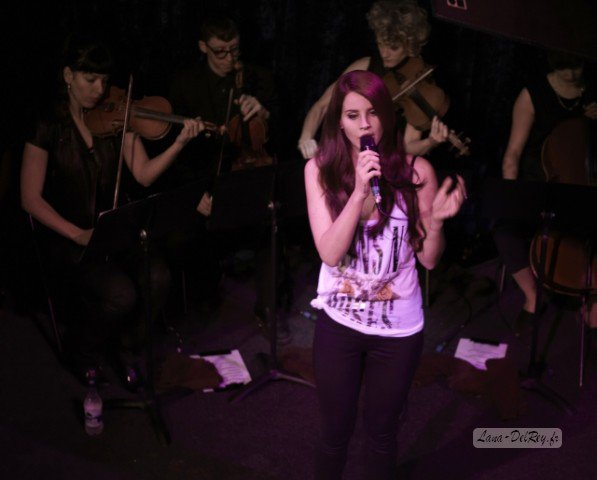 Lana Del Rey au Jazz Cafe