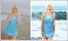 Lizzy Grant à la plage