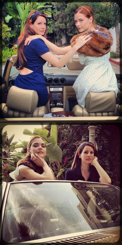 Just girls in car