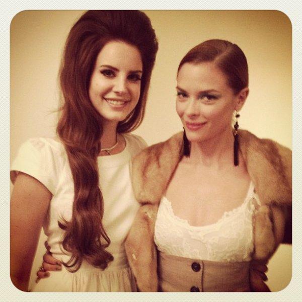 Jaime King et Lana Del Rey #2