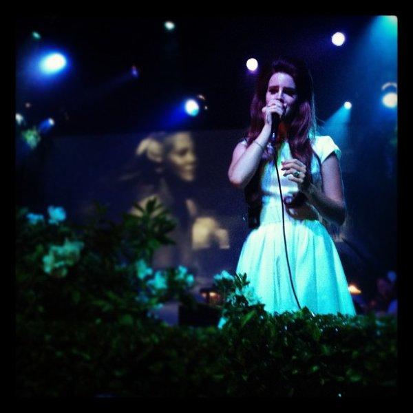 Lana Del Rey au Théâtre El Rey