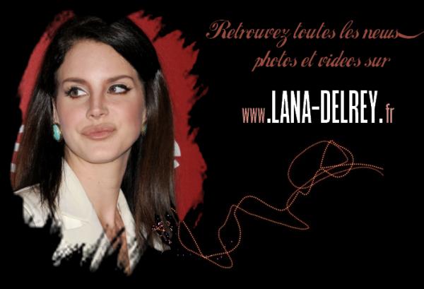 Lana Del Rey FRANCE