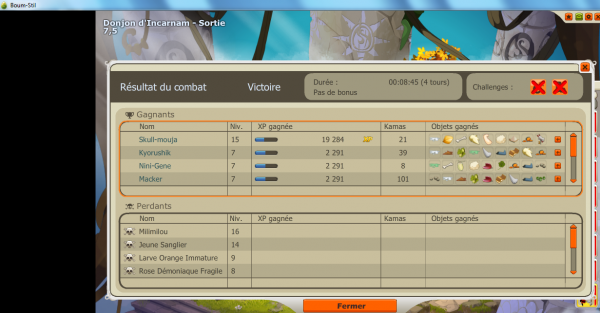 Le donjon d'incarnam!!!! By Team nadjic