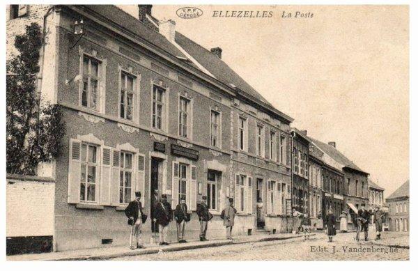 ELLEZELLES - La poste