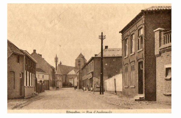 ELLEZELLES - La Rue d'Audenarde