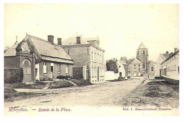ELLEZELLES - La Chaussée de Renaix