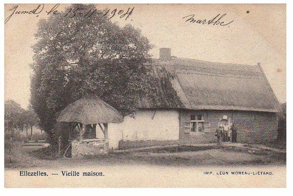 ELLEZELLES - Vieille maison