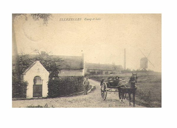 ELLEZELLES - Le Moulin du chat sauvage