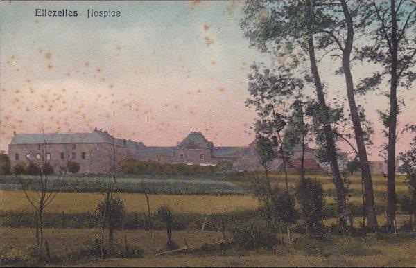 Ellezelles  Hospice en 1914
