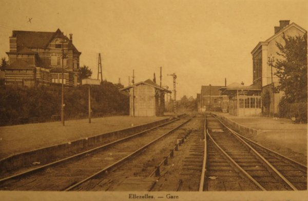 ELLEZELLES - la gare