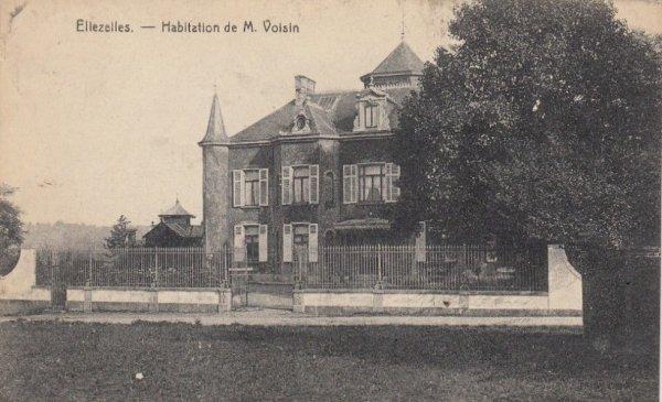Ellezelles - Habitation de M. Voisin - 1923