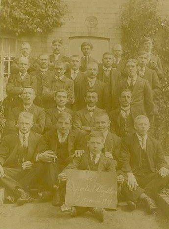 Ellezelles photo des déportés janvier 1917