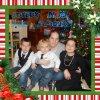 Moi avec mes enfants a Noël 2014