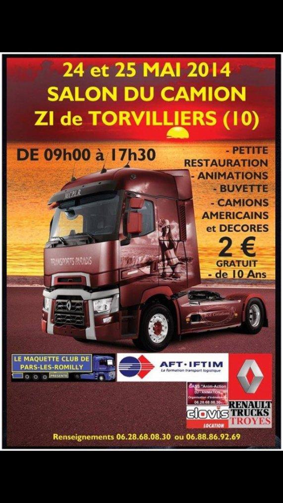 Expo camion décorer