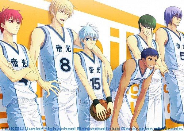Voici l'équipe de basket