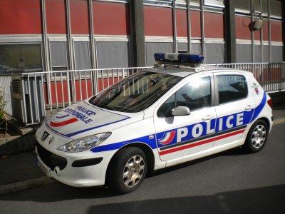 Peugeot 307 de la Police Nationale