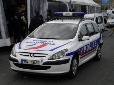 Peugeot 307 Break de la Police Nationale