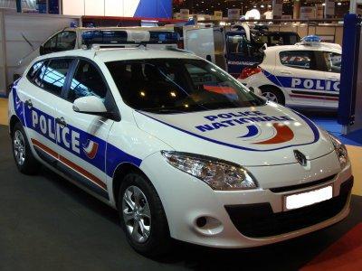 Renault Megane 3 Break de la Police Nationale