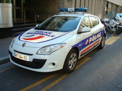 Renault Megane 3 de la Police Nationale
