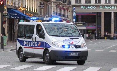 Renault Trafic de la Police Nationale