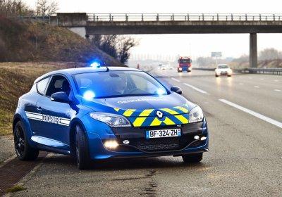 Renault  Megane 3 RS 16V. 260cv - 255km/h de la Gendarmerie