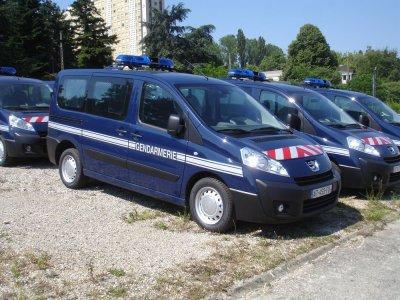 Peugeot Expert de la Gendarmerie