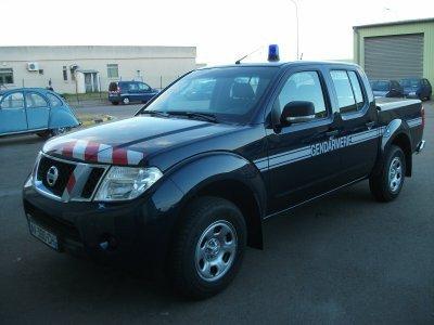 Nissan L200 de la Gendarmerie