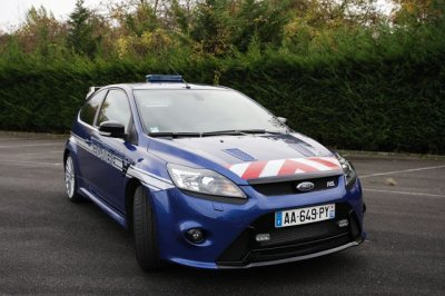 Ford Focus RS de la Gendarmerie
