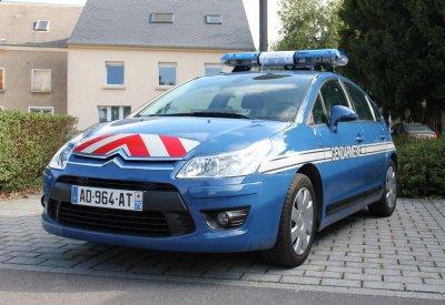 Citroen C4 de la Gendarmerie