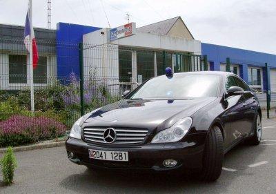 Mercedes Banalisé de la Gendarmerie