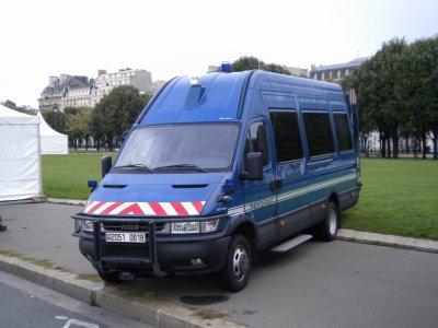 Iveco Daily de la Gendarmerie