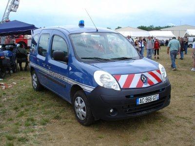 Renault Kangoo de la Gendarmerie