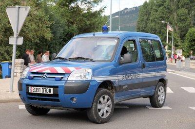 Citroen Berlingot 4x4 de la Gendarmerie
