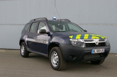 Dacia Duster de la Gendarmerie