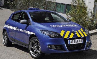 Megane 3 de la Gendarmerie