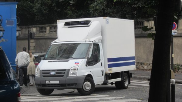 Ford Transit (Fourgon ) de la Police Nationale
