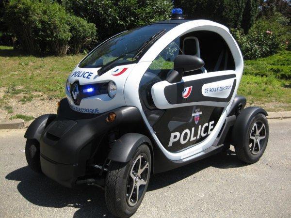 Renault Twizy de la Police Nationale