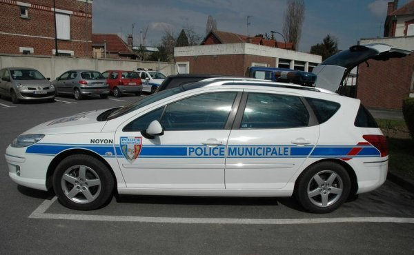 Peugeot 407 Break de la Police Municipale