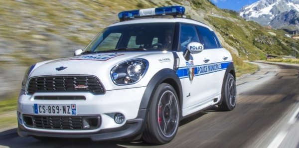 Mini Countryman de la Police Municipale