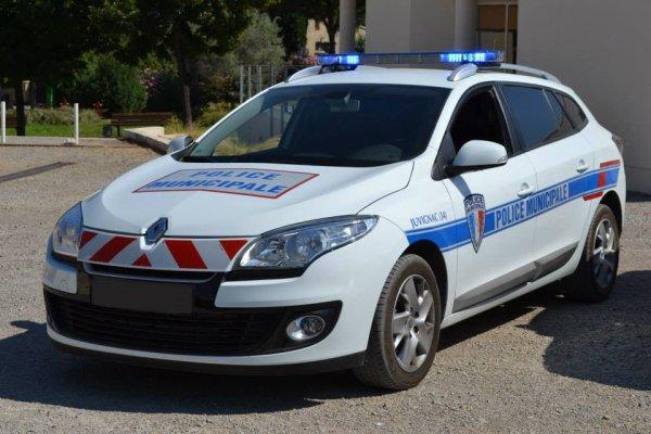 Renault Megane Break de la Police Municipale