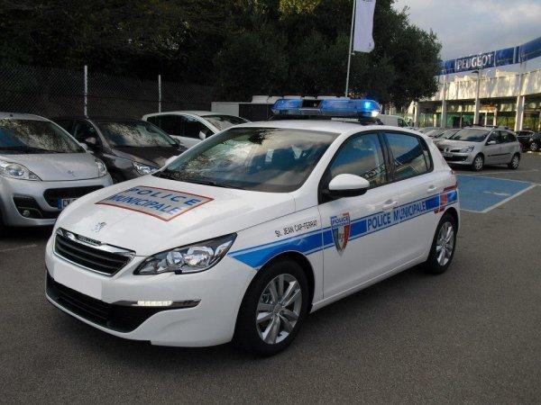 Peugeot 308 de la Police Municipale